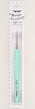 Tulip Sucre Bead Crochet Hook No.2 1.50mm