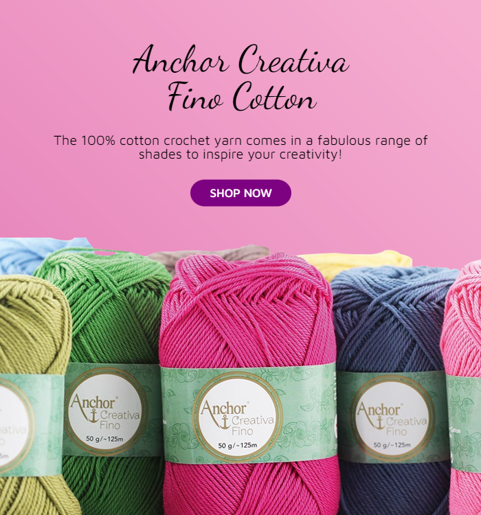 Anchor Creativa Fino Cotton Promo